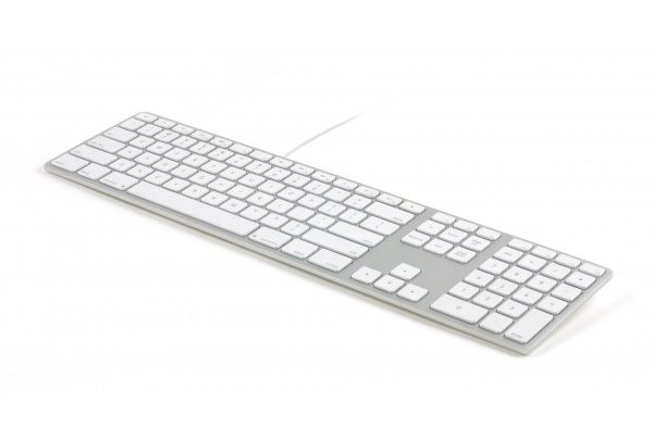 Wired Aluminum RGB Backlit Keyboard Silver